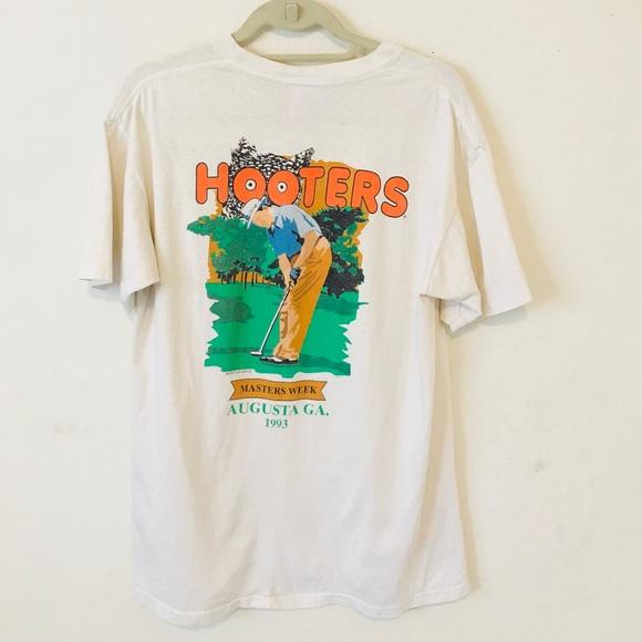 bc58269b3 Hooters Shirts | Mens Vintage T Shirt Large 90s Golf | Poshmark